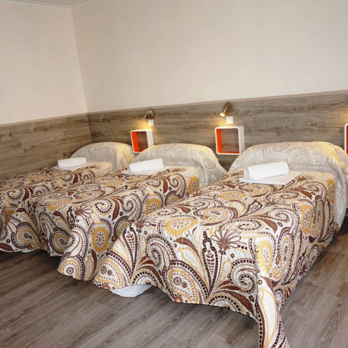 Bed in 4-Bed Dormitory Room with Shared Bathroom 2